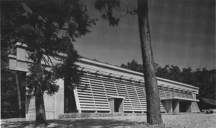 1963年出雲大社・庁の舎