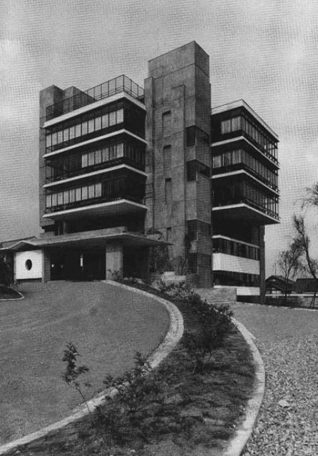 1963年館林市庁舎