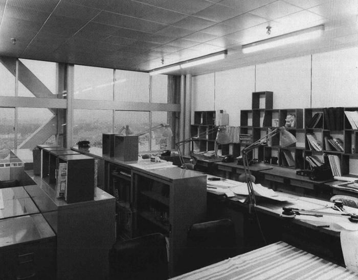 1967年早稲田大学理工学部51号館